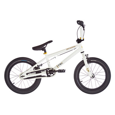 "BMX S'COOL XTRIX MINI 16"" Blanc/Or 2020"